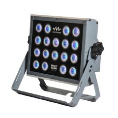 Multiform MultiBeam LS1018 54W RGB LED Stage Wash Light Panel DMX + 2Yr Warranty